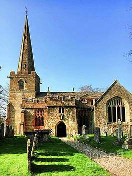 St Peter's Church, Winchcombe by Tom Gowanlock