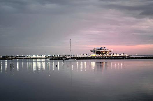 ST Petersburg Pier by Charles Bacon Jr