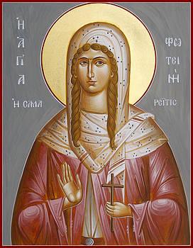 St Photini - The Samaritan Woman by Julia Bridget Hayes