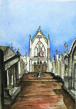 St. Roche Churchyard by Terri Johnson