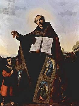Zurbaran Francisco de - St Romanus And St Barulas Of Antioch 1638
