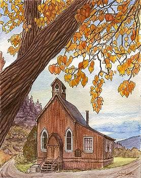 St. Saviour's in Autumn by Tahirih Goffic