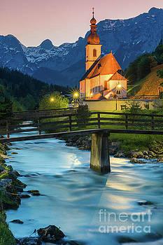 St Sebastian Church, Ramsau by Henk Meijer Photography