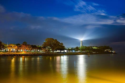 Chris Bordeleau - St. Simons Lighthouse illumination