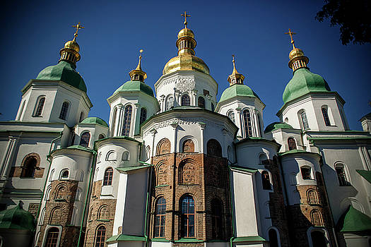 St. Sophia's Cathedral by Azad Pirayandeh