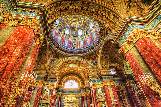 St Stephen's Basilica Budapest by David Pyatt