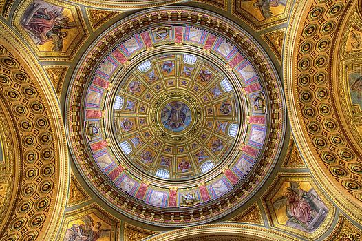 St Stephens Basilica Budapest Hungary by David Pyatt