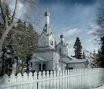St. Theodosius church. Sokyryn, 2017. by Andriy Maykovskyi