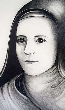 St. Therese of Lisieux by Mary Ellen Frazee