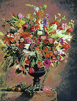 St Tropez Arrangement by David Lloyd Glover