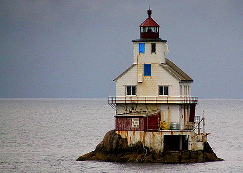 Stabben Lighthouse - It's Really a House by Laurel Talabere