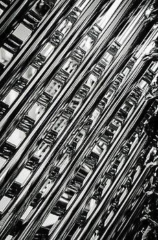 Stacked Chairs Abstract by Bruce Carpenter