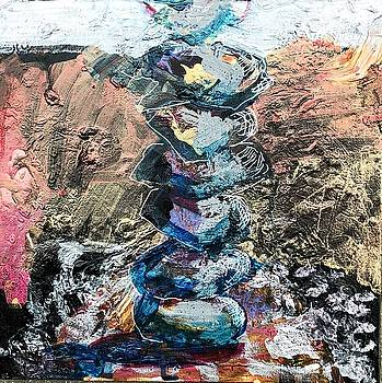 Stacked Rocks Altar by Christina Shurts