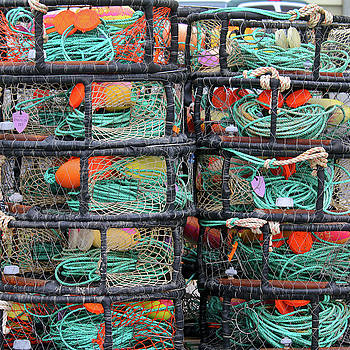 Art Block Collections - Stacked Crab Traps