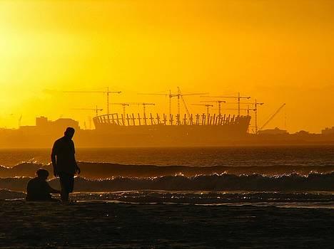 Stadium Sunset by Heather Nel