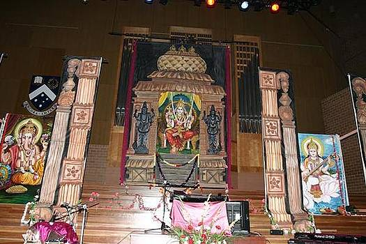Stage Decor - 2 by Murali