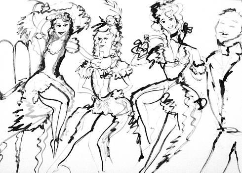 Stage door Johnny by Judith Desrosiers