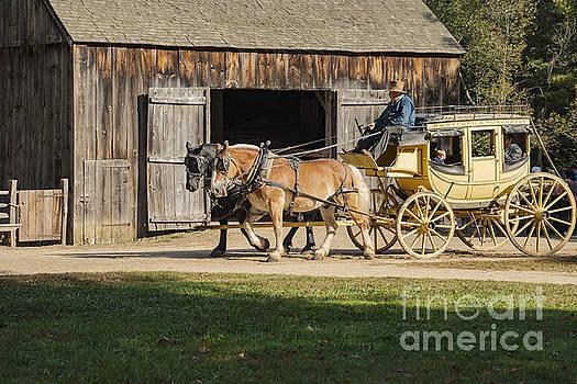 Bob Phillips - Stagecoach Ride through Sturbridge Village
