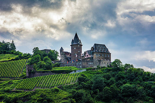 Stahleck Castle by David Morefield