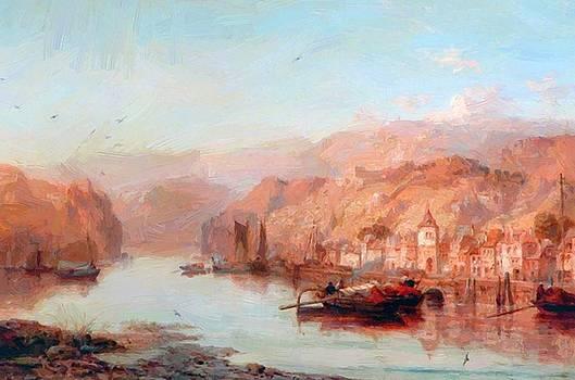 Webb James - Stahleck Castle On The Rhine 1877