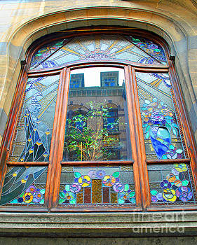 Jost Houk - Stain Glass of Brussels