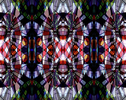 Stained Glass #4722 Abstract Design 2 by Barbara Tristan