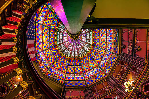 Chris Coffee - Stained Glass, Old State Capital, Baton Rouge