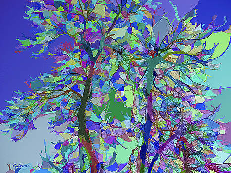 Stained Glass Nature One by Cj Grant