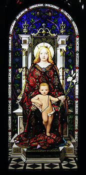 Adam Romanowicz - Stained Glass of Virgin Mary