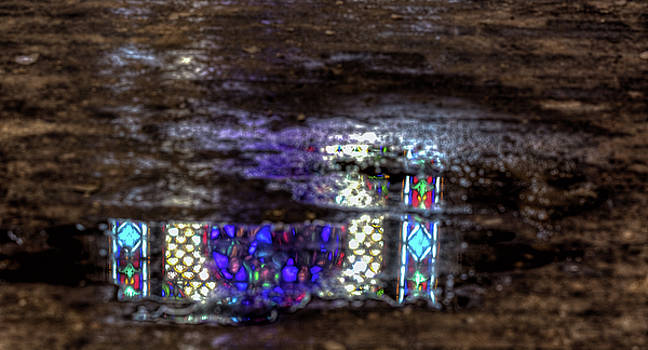 Stained Glass Reflections by John Hoey