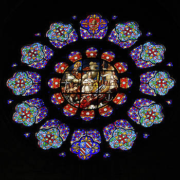 Vassil - Stained Glass Rose Window of Joinville