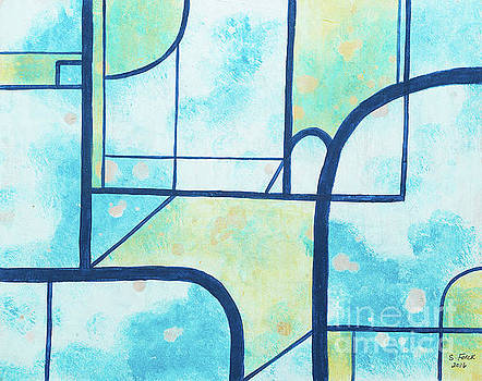 Stained Glass Sky by Stefanie Forck