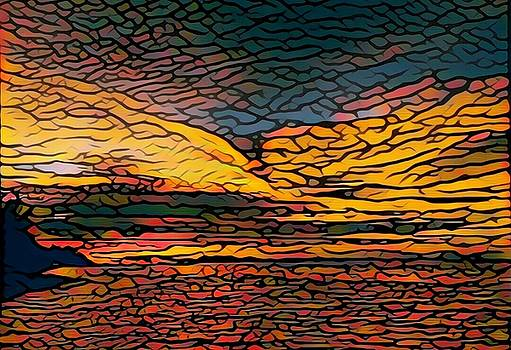 Steven Robiner - Stained Glass Sunset