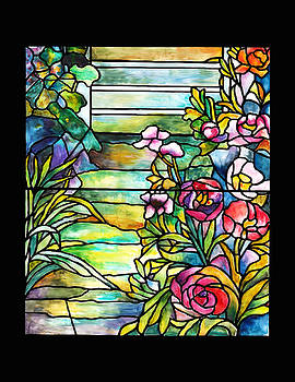 Donna Walsh - Stained Glass Tiffany Robert Mellon House