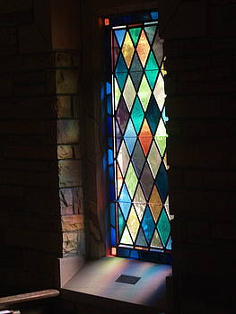 Stained Glass Window by Randy Muir