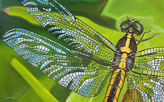 Stained Glass Wings by Bryan Ory