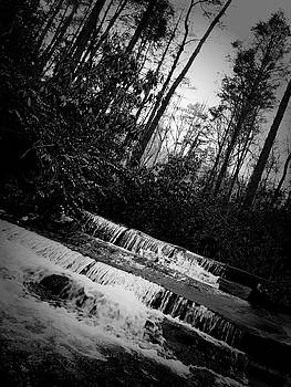 Stair Step Falls at Table Rock State Park by Kelly Hazel