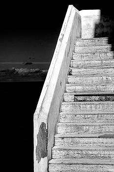 Staircase Cefalu Sicily by Xavier Cardell
