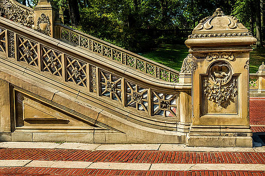 Staircase Central Park by Xavier Cardell