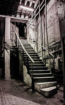 Staircase Havana Cuba by Joan Carroll
