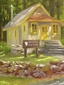 Staircase Ranger Station by Mary McInnis