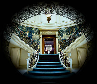 Staircase To Luxury by Digital Art Cafe