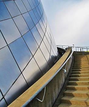 Staircase to Sky by Martin Cline