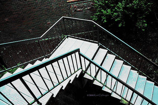 Kae Cheatham - Stairs and Railing 2