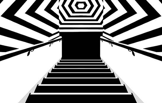 Nikolyn McDonald - Stairs and Stripes 2