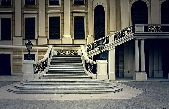 Stairs of The Belvedere by Mickael PLICHARD
