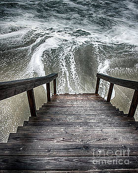 Stairs To The Ocean by Tom Gari Gallery-Three-Photography
