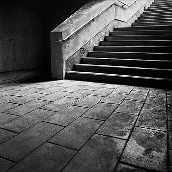 Stairs To The Top BW Parking Structure by YoPedro