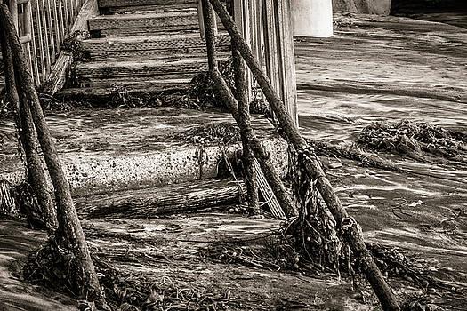 Stairs Under Sand by Randy Bayne