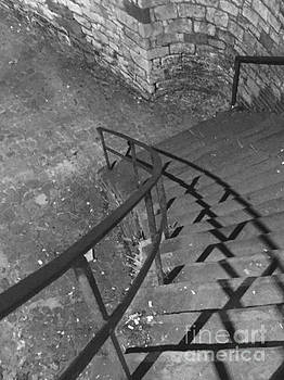 Stairway in Black and White by Robin Lewis